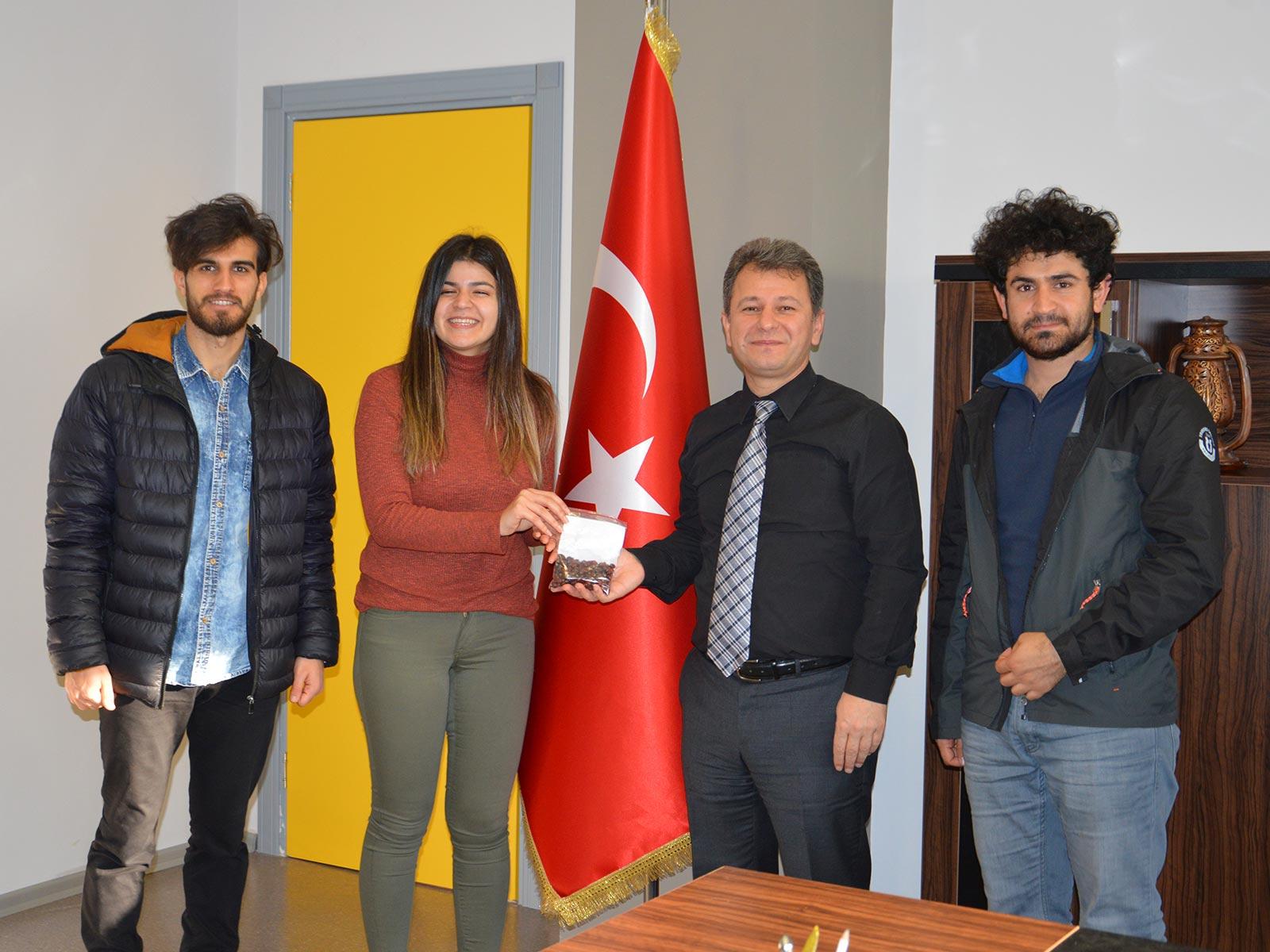KOÜ öğrencileri Toplumsal Sorumluluk Projesi kapsamında, 'Ormanın Dili Y 3