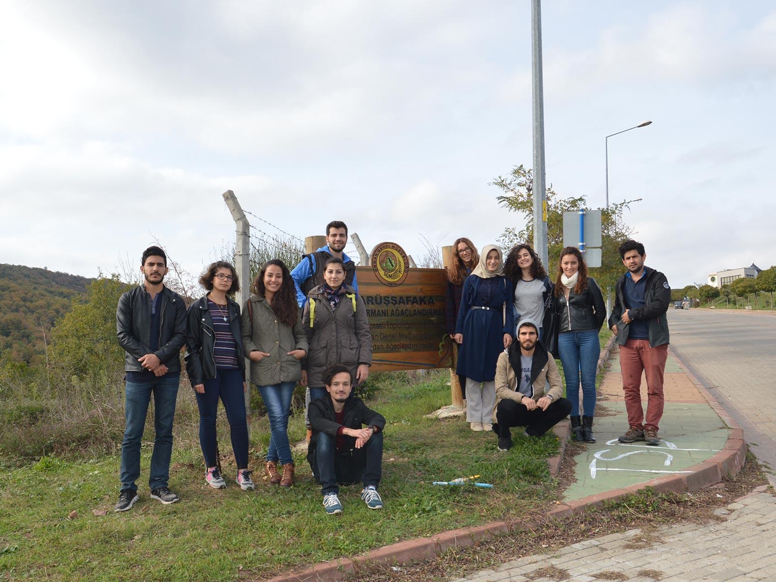KOÜ öğrencileri Toplumsal Sorumluluk Projesi kapsamında, 'Ormanın Dili Y 5