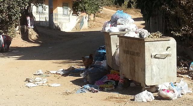 Çöpler gelişigüzel atılıyor