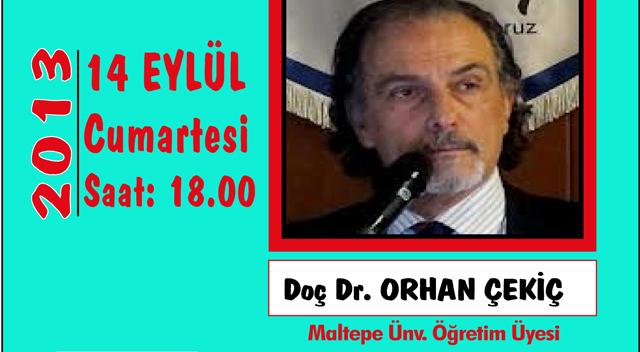 Orhan Çekiç, CHP'nin kuruluşunu anlatacak