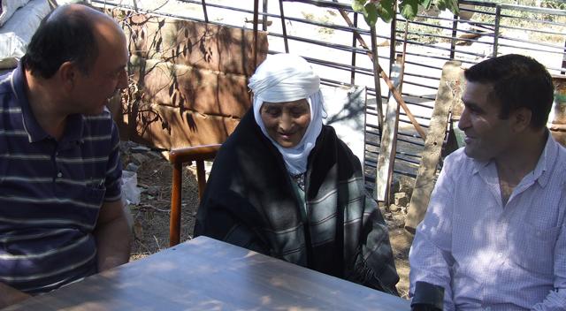 Tüzel, Nafize Babayiğit'i ziyaret etti