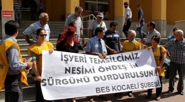 """BES: """"Gezi eylemine katılanı sürüyorlar"""""""