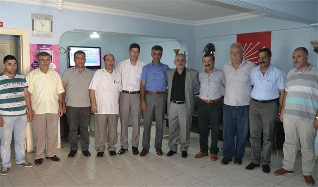 Bingöl ve Tuzla'dan Dalkılıç'a destek