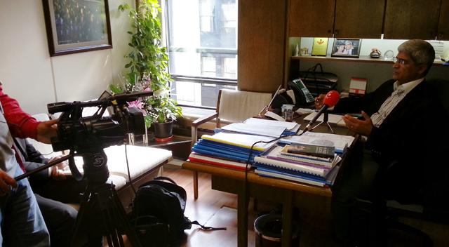 Ortadoğu Televizyonu CHP'li Kaplan ile röportaj yaptı
