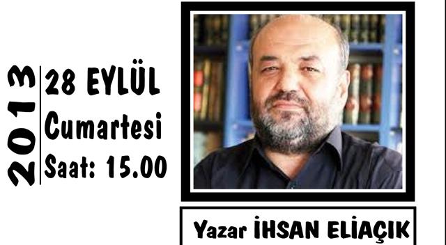 Düşünce Akademisi'nin konuğu Yazar İhsan Eliaçık
