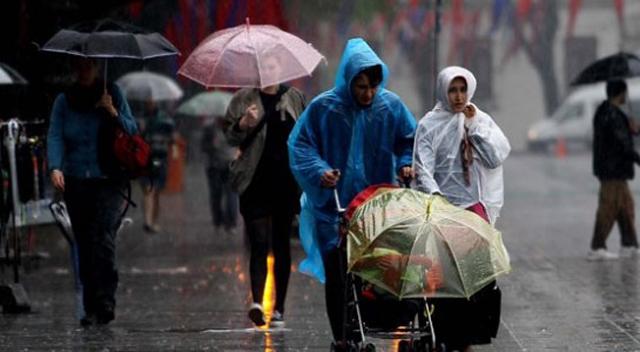 Meteoroloji'den 23 il için kuvvetli yağış uyarısı