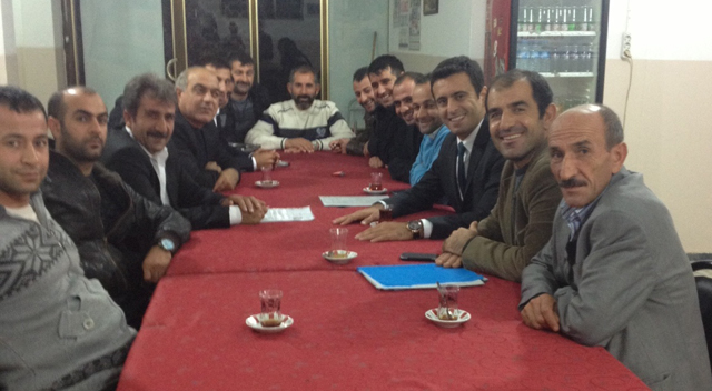 Türkmeşen Köyü derneğinden Törk'e tam destek