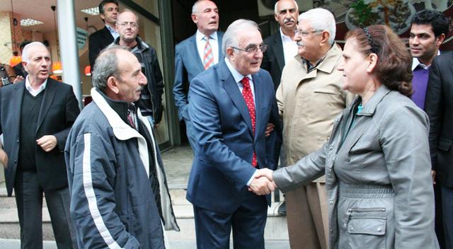 Öğüt, Esnaflara görüş sordu, CHP adaylarına oy istedi