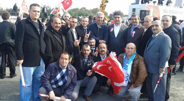 MHP Darıca ve Gebze İstanbul'a gittiler