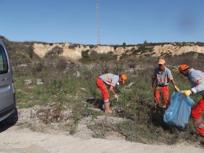 Gebze'nin kırsalında temizlik!