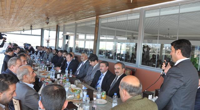 Başkan Yaman din görevlileri ile buluştu