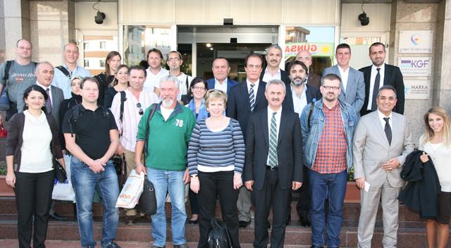 Avrupalı eğitimciler, GTO' nı ziyaret etti