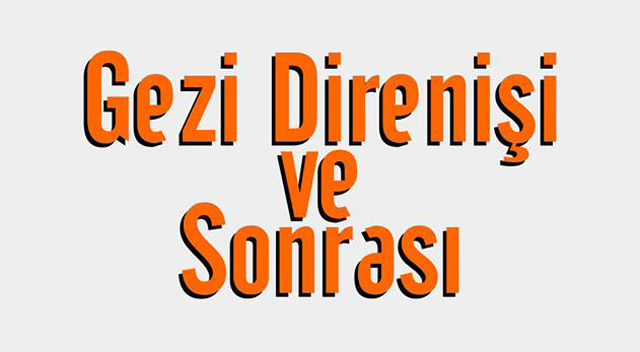 """Yenikent Dayanışması """"Gezi Direnişi ve Sonrası"""" paneli"""
