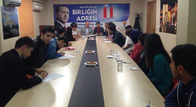 """Muzaffer Bıyık, """" Gençlerimizin Enerjisi Bize Güç Katıyor"""""""