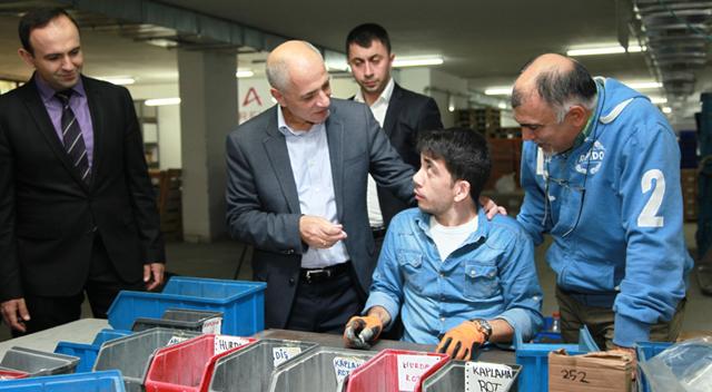 Çayırova'da ENİŞMER'le Engelsiz Üretim