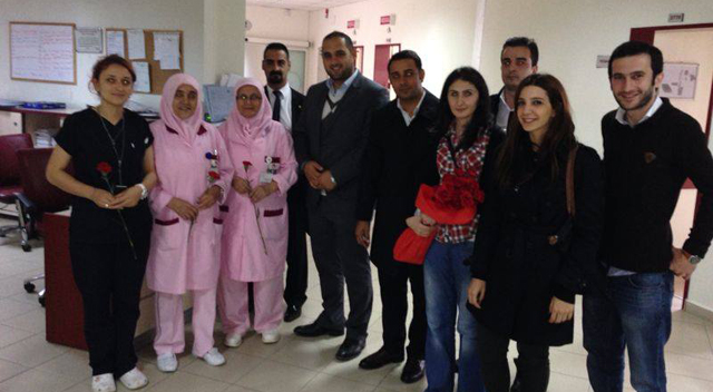 CHP'li gençlerden anlamlı ziyaret