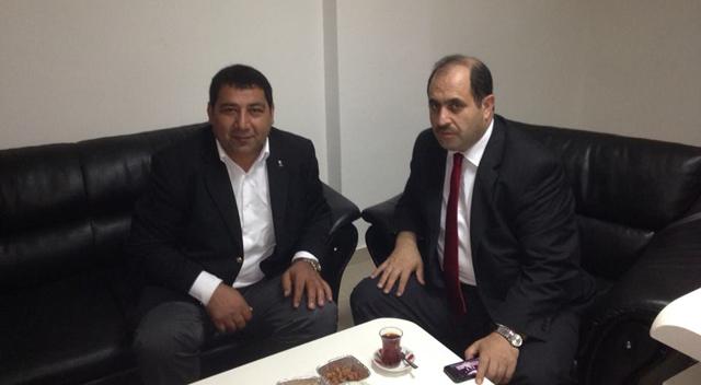 AKP İki aday adayı buluştu