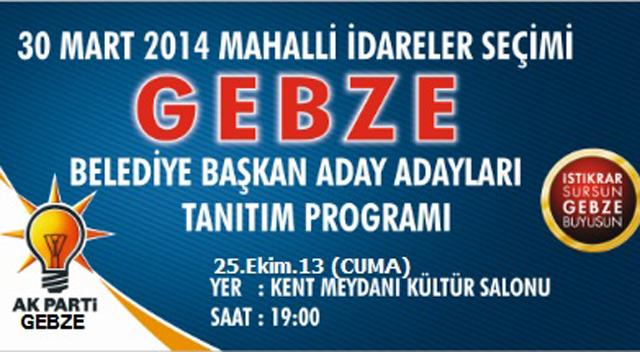 AKP'de aday adaylar tanıtılıyor