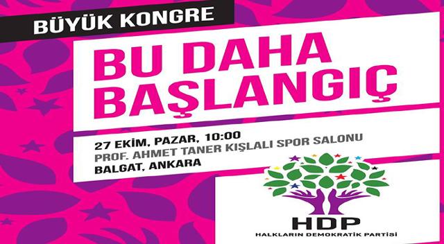 """""""HDP ortak mücadele partisidir"""""""