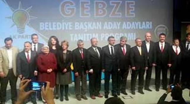AKP Gebze'de Adaylar tanıtıldı