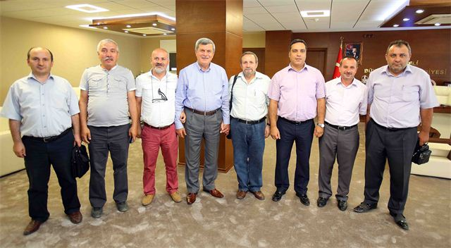 Karaosmanoğlu, KOGSAB Yönetimini ağırladı