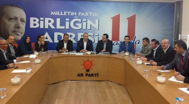 AKP Çayırova'dan 5 bin 141 üyeye ziyaret