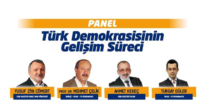 Gebze'de demokrasi buluşması!