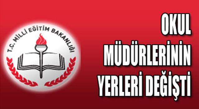 Gebze'de okul müdürleri değişti