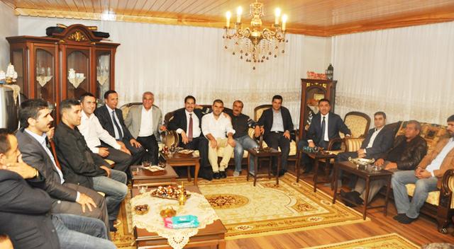 Başkan Yaman'dan hacı ziyareti