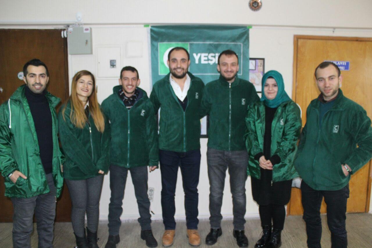 Yeşilay Gebze'de yeni yönetim oluştu
