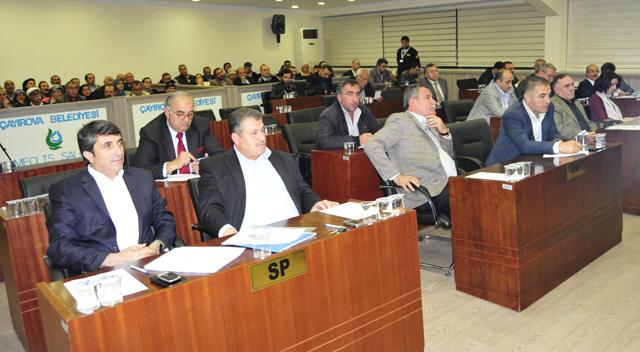 Dilovası Belediyesi ekim meclisi yapıldı