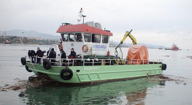 Körfez'de 350 ton atık toplandı