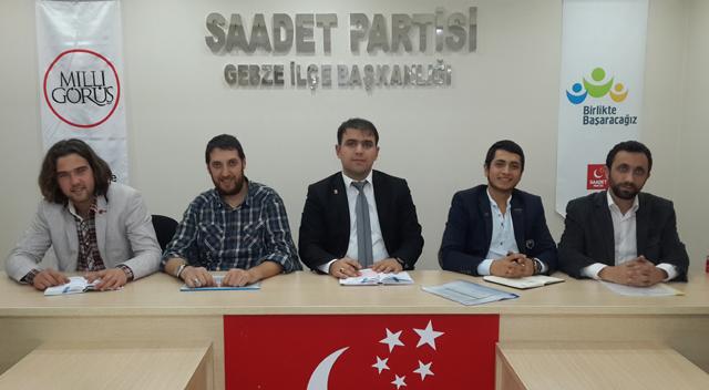 Genç Saadet Bakan Ergün'e tepkili