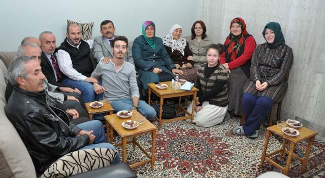 Başkan Karabacak hacı ziyaretlerine başladı