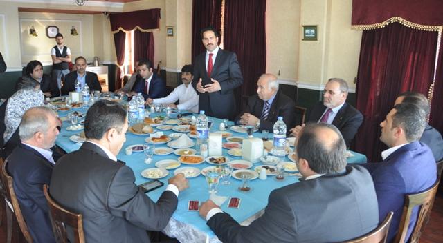 Başkanlar Ankara'daydı
