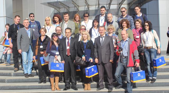 Gebze Halk Eğitimi Merkezi yabancı konuklarını ağırladı