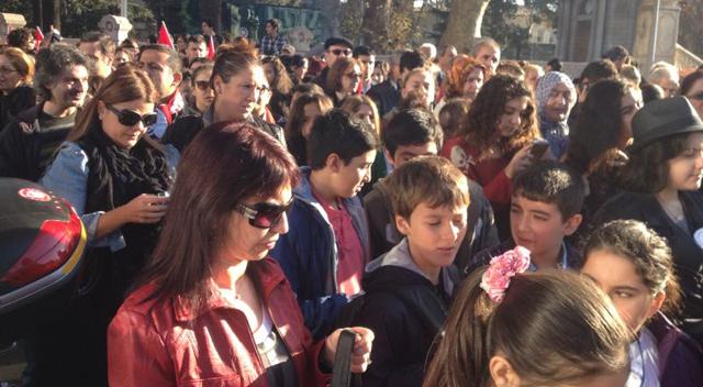 Gebzeli öğrenciler Dolmabahçe sarayında