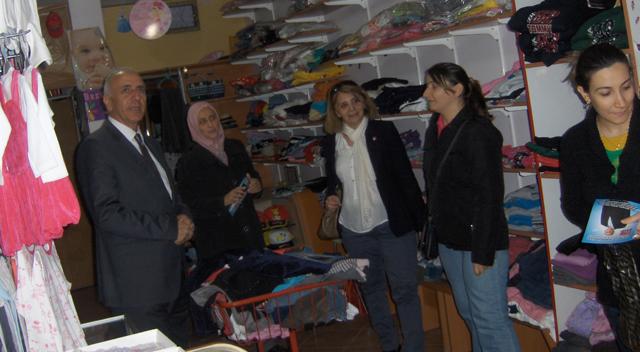 Cengiz Hamşioğlu esnaf ile buluştu