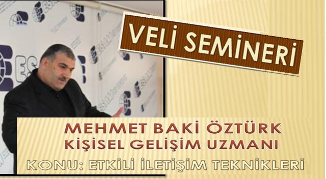 Mehmet Baki Öztürk Hisar Koleji'ne geliyor