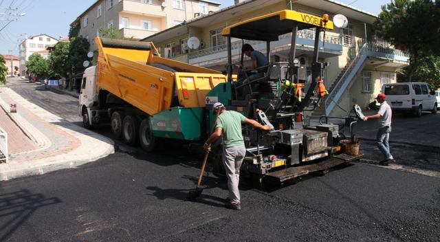 Çayırova'da 410 sokak üstyapıya kavuştu