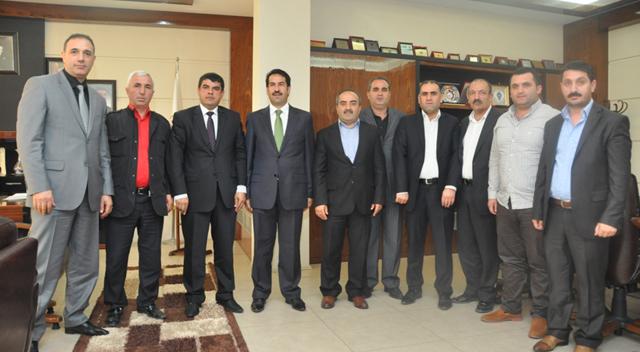 Başkan Yaman, Ağrılılar Derneğini ağırladı