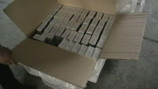 56 bin paket kaçak sigara yakalandı