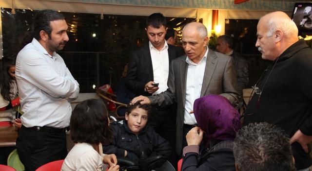 Başkan Akbaş, engelli vatandaşlarla buluştu