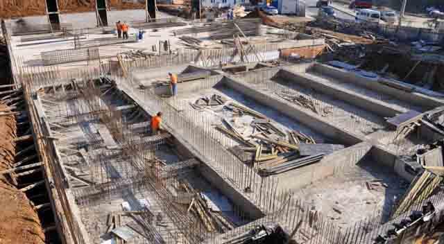 Kültür Merkezi'nin yapımı devam ediyor