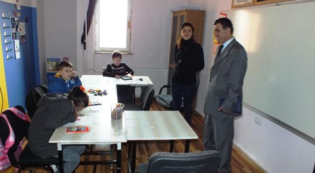 Durak Demirel'den okul ziyaretleri