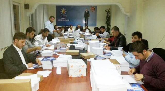 AKP'li gençler 13000 genç seçmene mektup