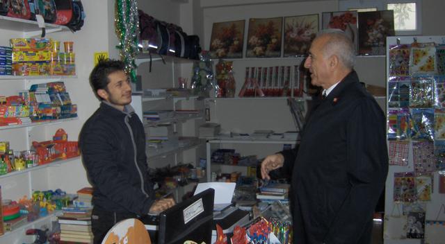 Cengiz Hamşioğlu esnaf ziyaretlerine devam ediyor