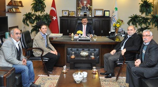 Cemevi'nden Başkan Karabacak 'a teşekkür