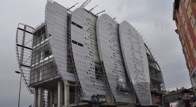 Darıca Kültür Merkezi şekilleniyor