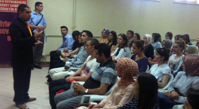 Darıca'da yeni öğretmenlere eğitim